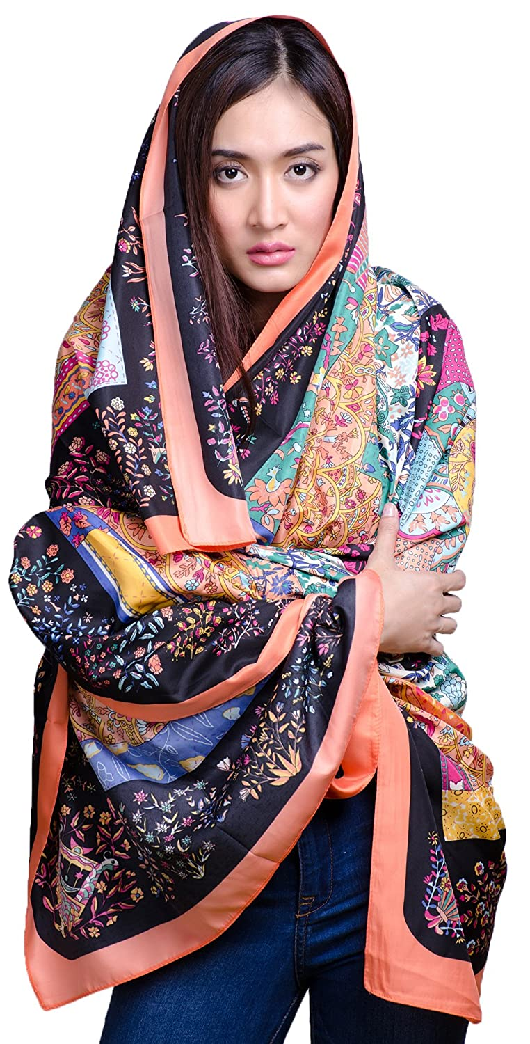Women's infinity scarves shrug silk scarf and wraps, PERFECT! for all seasons