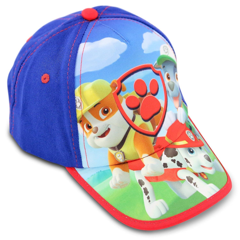 pretty nice 891f4 f234f Amazon.com  Nickelodeon Toddler Boys Paw Patrol Cotton Baseball Cap, Age  2-4  Clothing