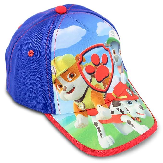 01c978c11 Nickelodeon Toddler Boys Paw Patrol Cotton Baseball Cap, Age 2-4
