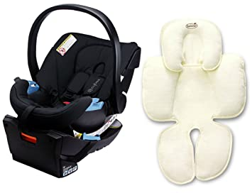Amazon.com : Cybex Aton Infant Car Seat with Snuzzler Infant Support