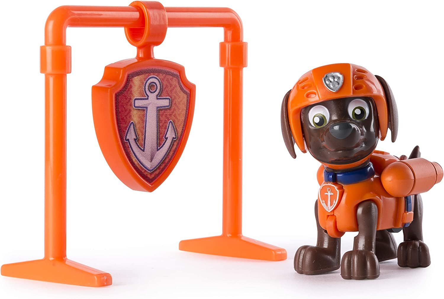 Brand New Zuma Spin Master Nickelodeon Paw Patrol Pull Back Pup Figure Toy