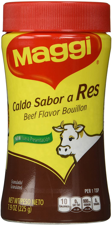 Maggi Granulated Beef Flavor Bouillon, 7.9 Ounce