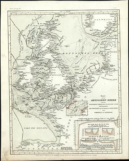 Amazon Com Seas Of Northern Europe Germany England Scotland C 1850