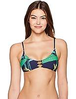 b00187089196f Trina Turk Women's Midnight Paradise Bralette Bikini Top