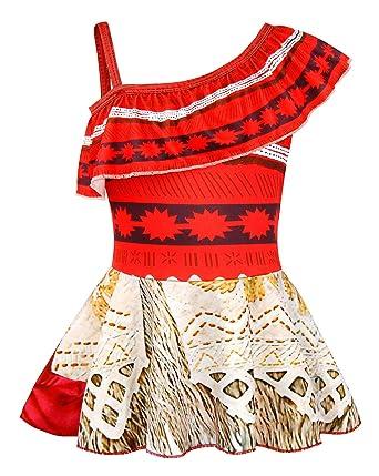 Wonderful Amazon.com: AmzBarley Moana One Piece Bathing Suit Swimsuits For Girls  Holiday Party Beachwear 1 10 Years: Clothing