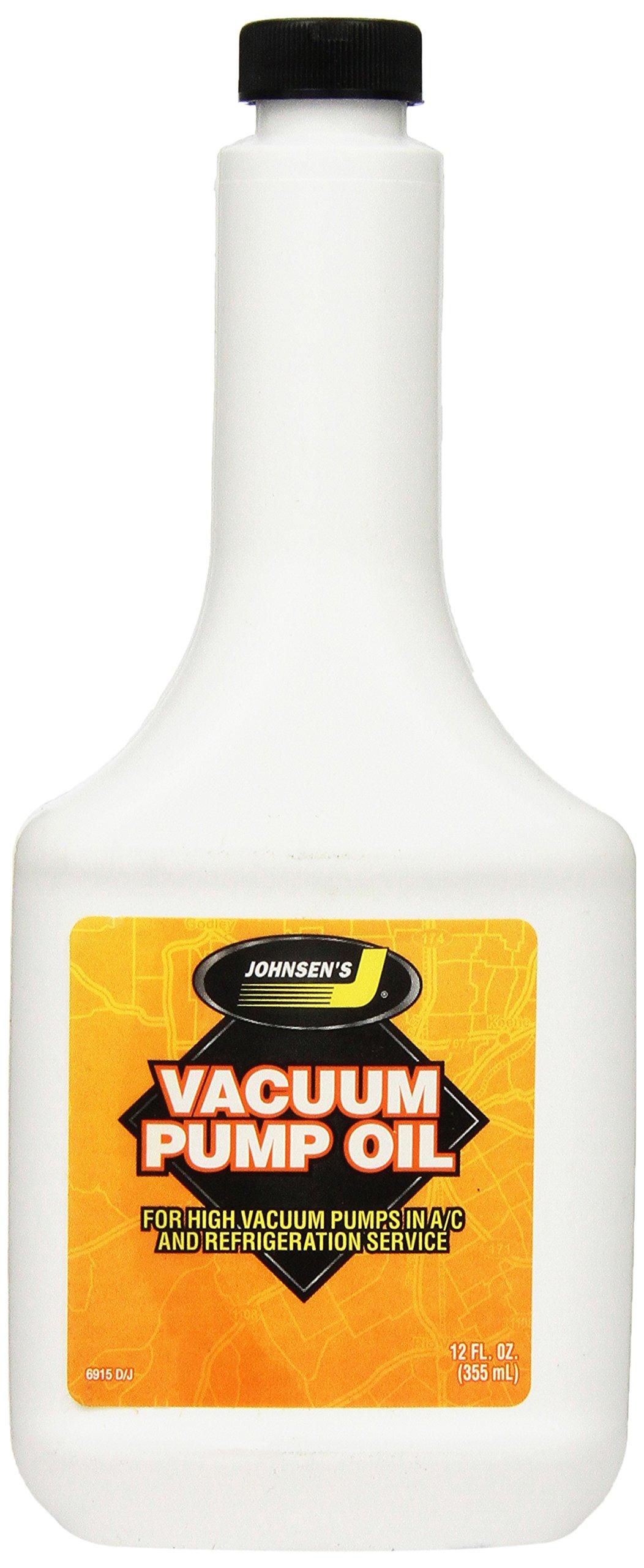Johnsen's 6915 Vacuum Pump Oil - 12 oz. by Johnsen's