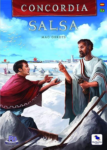 Ediciones MasQueoca - Concordia Expansion Salsa Segunda Edición (Español)(Portugués): Amazon.es: Juguetes y juegos