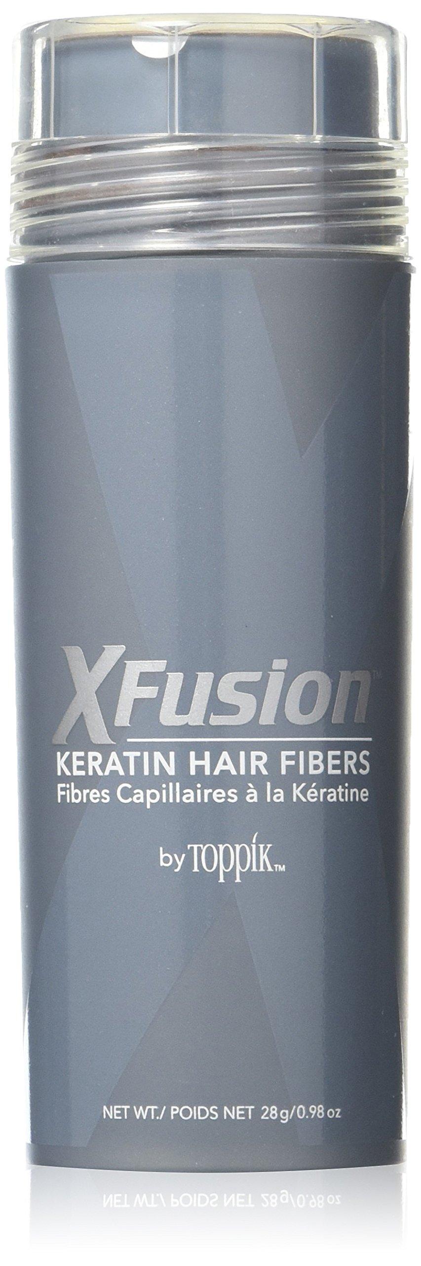 X-Fusion Keratin Hair Fibers for Unisex, Auburn, 0.87 Ounce