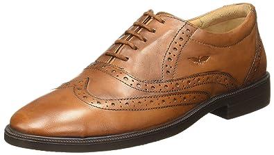 45e4b46690 Park Avenue Men's Brown Leather Formal Shoes-10 UK/India (44 EU ...