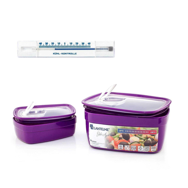 Lantelme 6438 Utensilios de cocina con microondas y - Termómetro ...