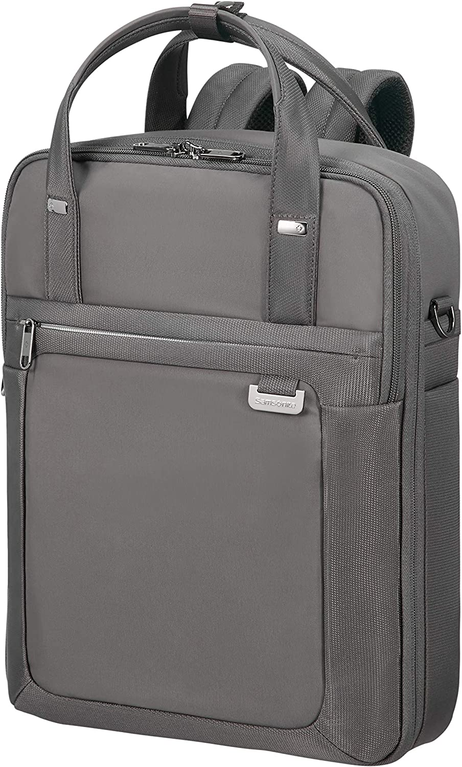 SAMSONITE Uplite - Three-Way Laptop Expandable Mochila Tipo Casual 40 Centimeters 18 Gris (Grey)