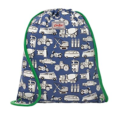 CATH KIDSTON Boys GARAGE MONO Drawstring Bag: Amazon.co.uk: Clothing
