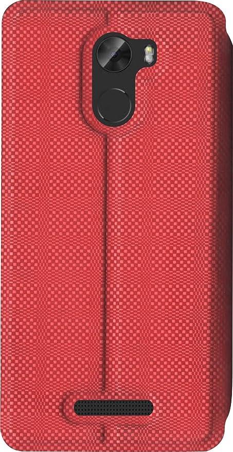 cheap for discount fbc21 40b25 SBMS Gionee A1 Lite Flip Cover (Red)