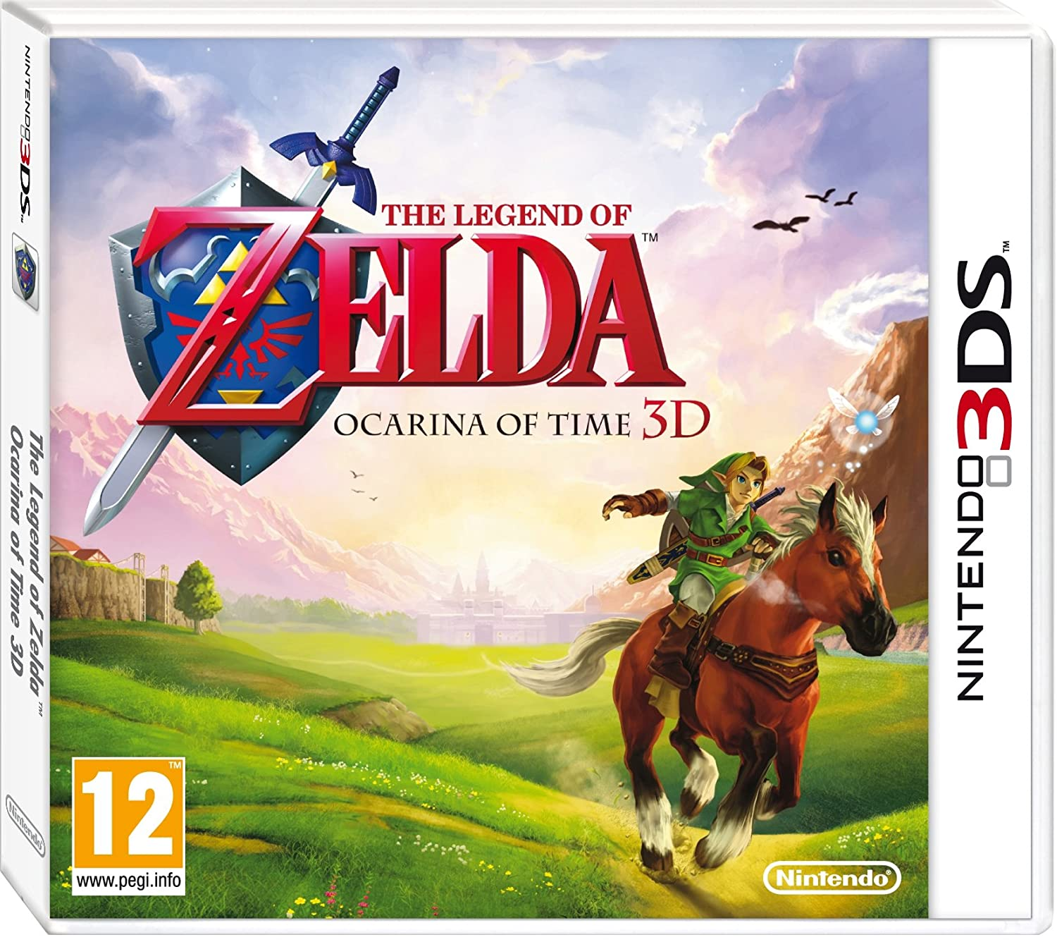 Image result for ocarina of time 3ds