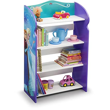 Frozen Bookshelf Organizer Toy Storage Princesses Anna And Elsa Kid Bed Play Room Bin Box Book