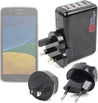 DURAGADGET Kit De Adaptadores Con Cargador Para Smartphone Lenovo ...