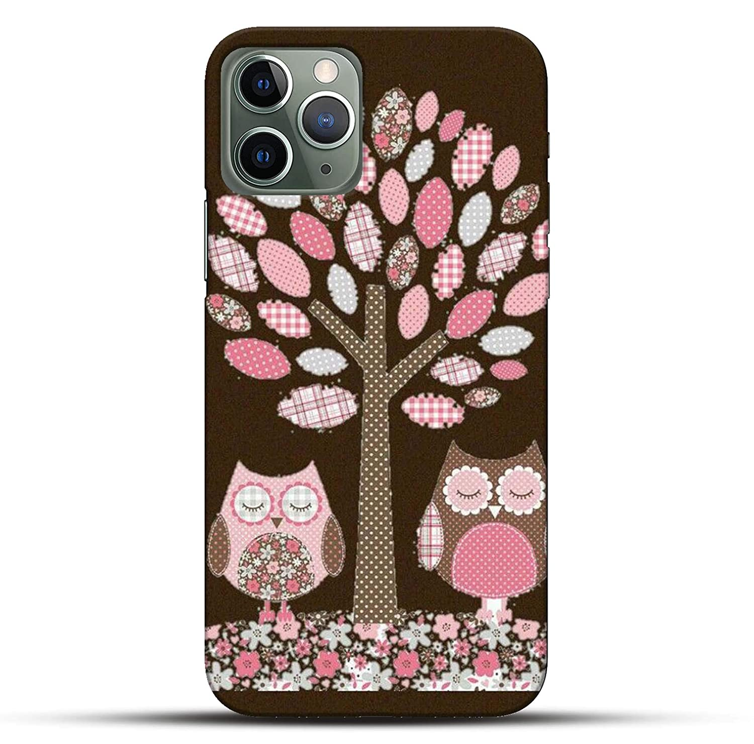 Outlouders Funky Cute Owl Floral Flower Tree Brown Amazon In Electronics