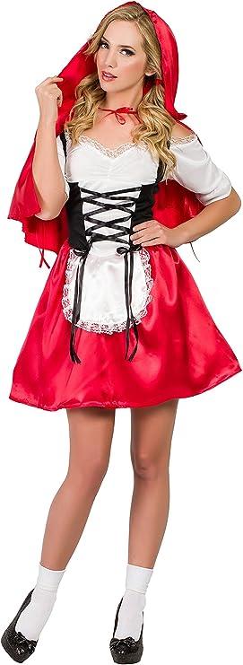 Disfraz Caperucita Roja M-L: Amazon.es: Juguetes y juegos