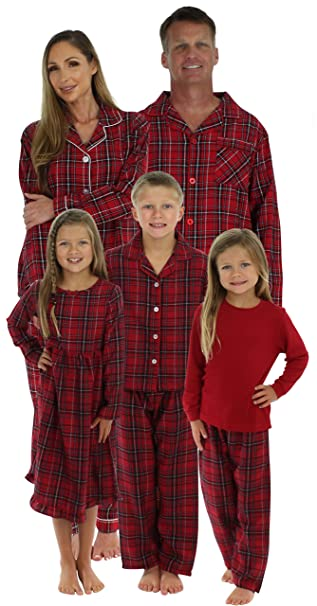 SleepytimePjs Family Matching Plaid Thermal Pajamas PJs Sets for The Family   Amazon.ca  Clothing   Accessories 5fd7197b9