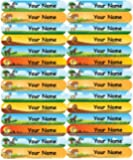 Personalised, Waterproof Mini Labels - Animal Design - 36nos