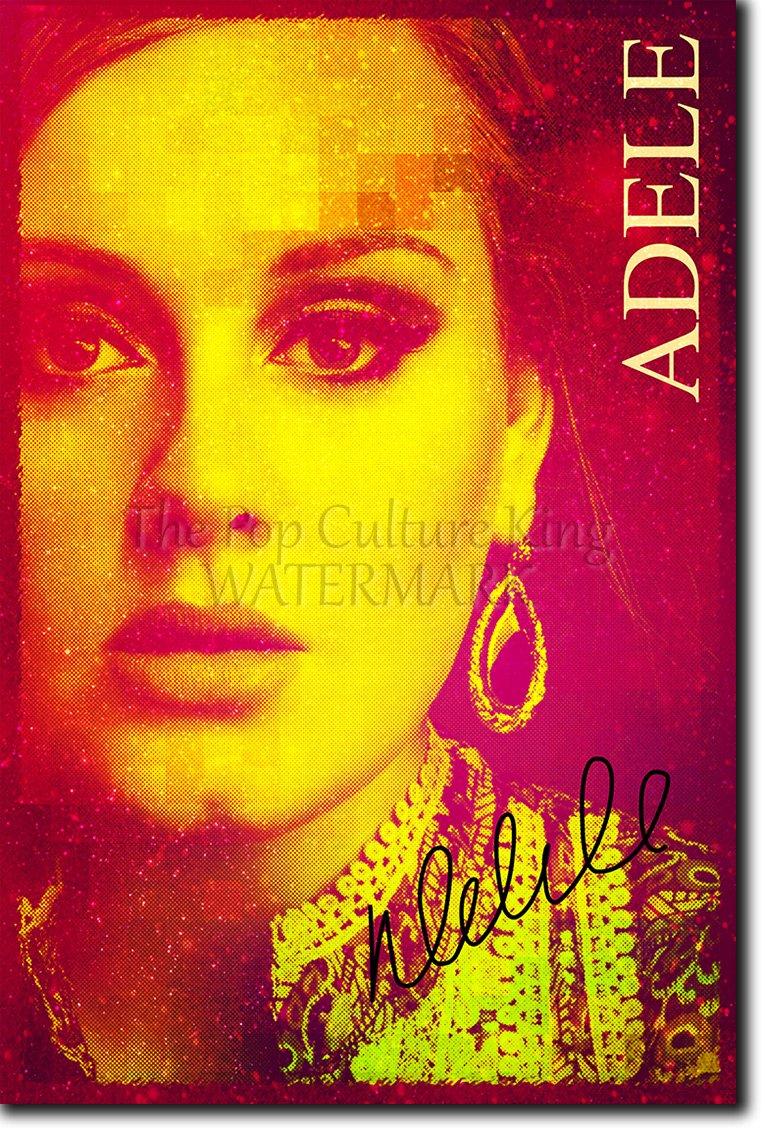 Adele Art Print 2