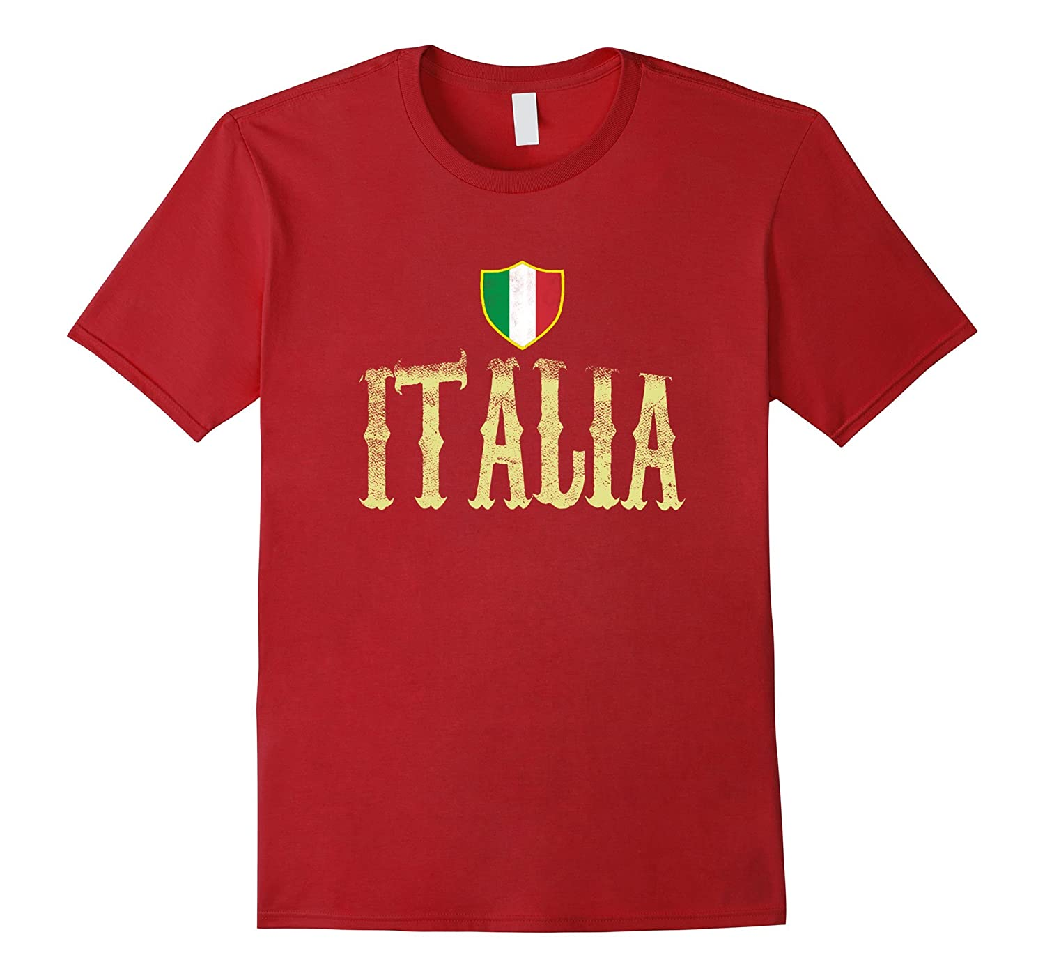 Vintage Flag T shirt Italian Heather-Awarplus