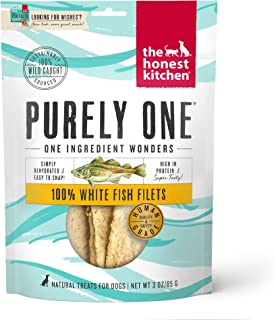 product image for The Honest Kitchen Wishes: Natural Human Grade Dehydrated Fish Filets, Treats for Dogs and Cats 3 oz