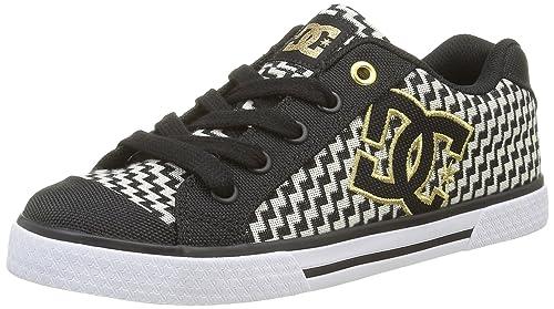 DC Shoes, Chelsea Tx Se, Zapatillas, Mujer, Negro (Black/Gold), 38: DC: Amazon.es: Zapatos y complementos