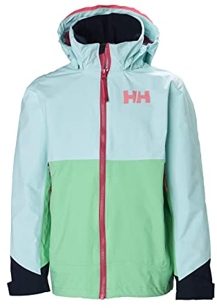 1dc7b0b0 Amazon.com: Helly Hansen Juniors Ascent Waterproof Breathable Hooded Rain  Jacket: Clothing