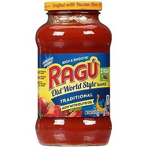 Ragu Pasta Sauce, Traditional, 24 oz
