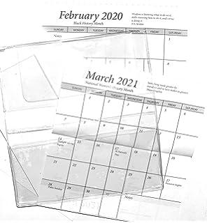 Amazon.com: Playa 2018 – 19 & 2020 bolsillo calendario ...
