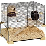 Ferplast Karat 60 Hamster and Mouse Glass Cage, 59.5 x 39 x 52.5 cm