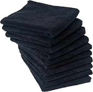 Eurow Microfiber Super Soft Professional Salon Bleach Safe Hair Drying Towels 16 x 29 Inches 10 Pack