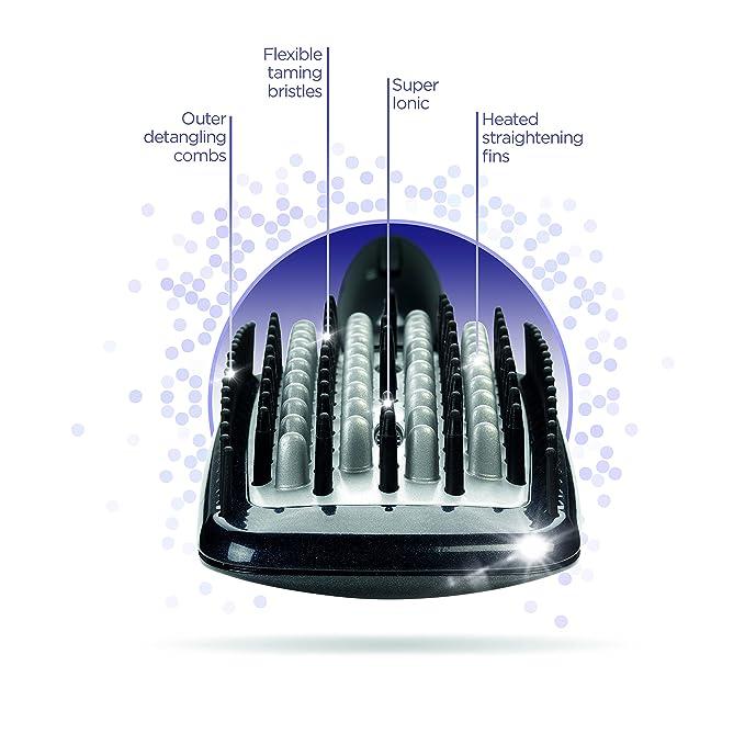 BaByliss Diamond Cepillo secador para alisado y suavizado del pelo ...