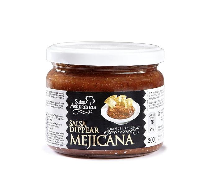 Salsas Asturianas Salsa Mejicana - 300 gr - [Pack de 6]