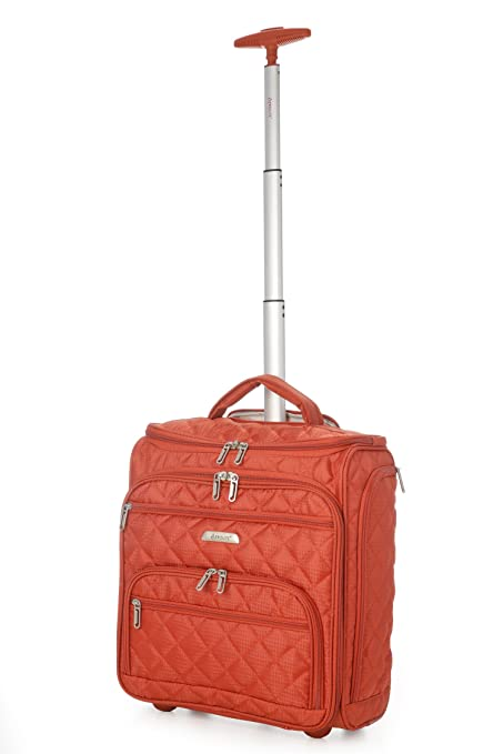 5ef19b4c4 Image Unavailable. Image not available for. Colour: Aerolite Quilted Small  Weekend Underseat Cabin Hand Luggage ...