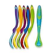 Nuby 6 Piece Fun Feeding Spoons