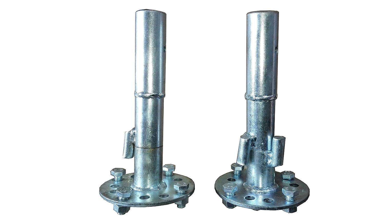 bricoferr pt00323–Freigabe für Motorhacke (32mm Achse, ausziehbar)