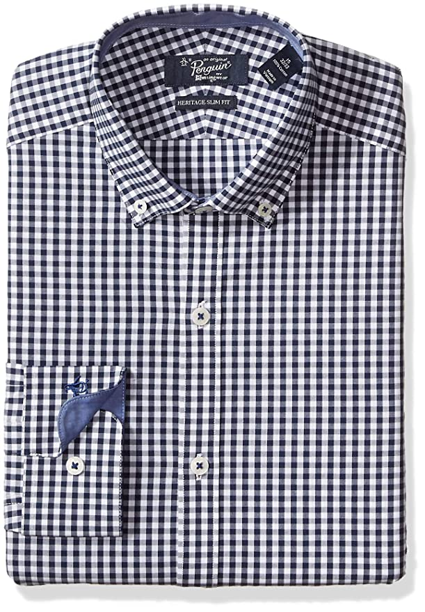 Original Penguin Men's Slim Fit Essential Oxford Dress Shirt by Original Penguin