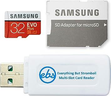 Amazon.com: Samsung Evo Plus 32GB Micro SDHC Memory Card ...