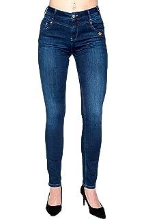 Lost in Paradie Celina Grey Used Jeans Damen Denim (2732