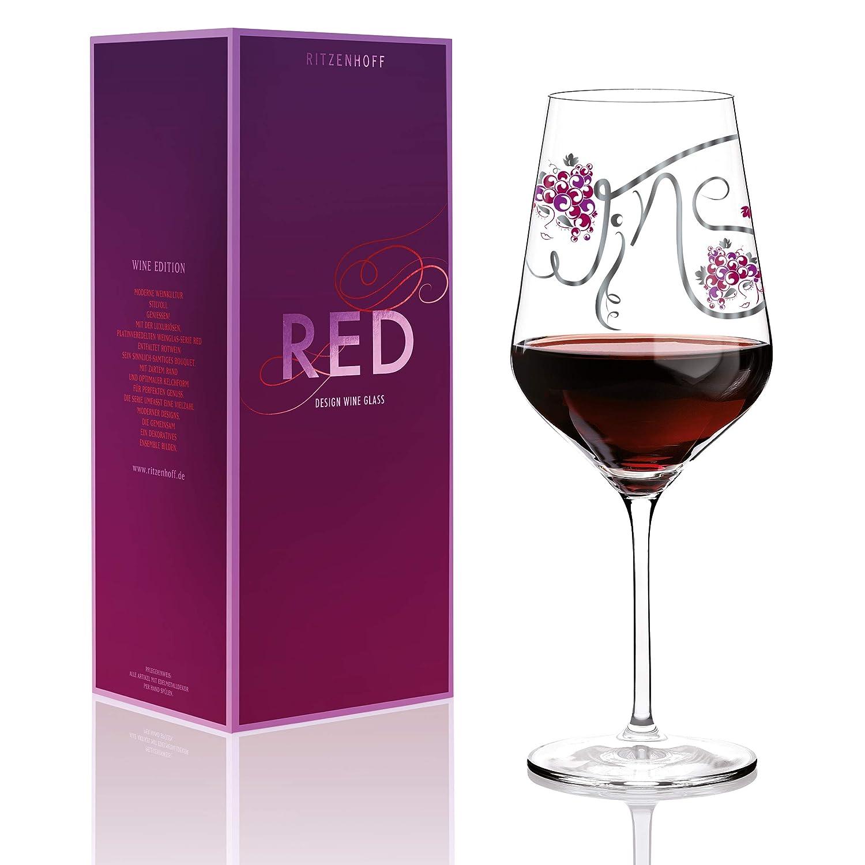 Ritzenhoff 58 cl par Ramona Rosenkranz Verre à vin Rouge 3000015