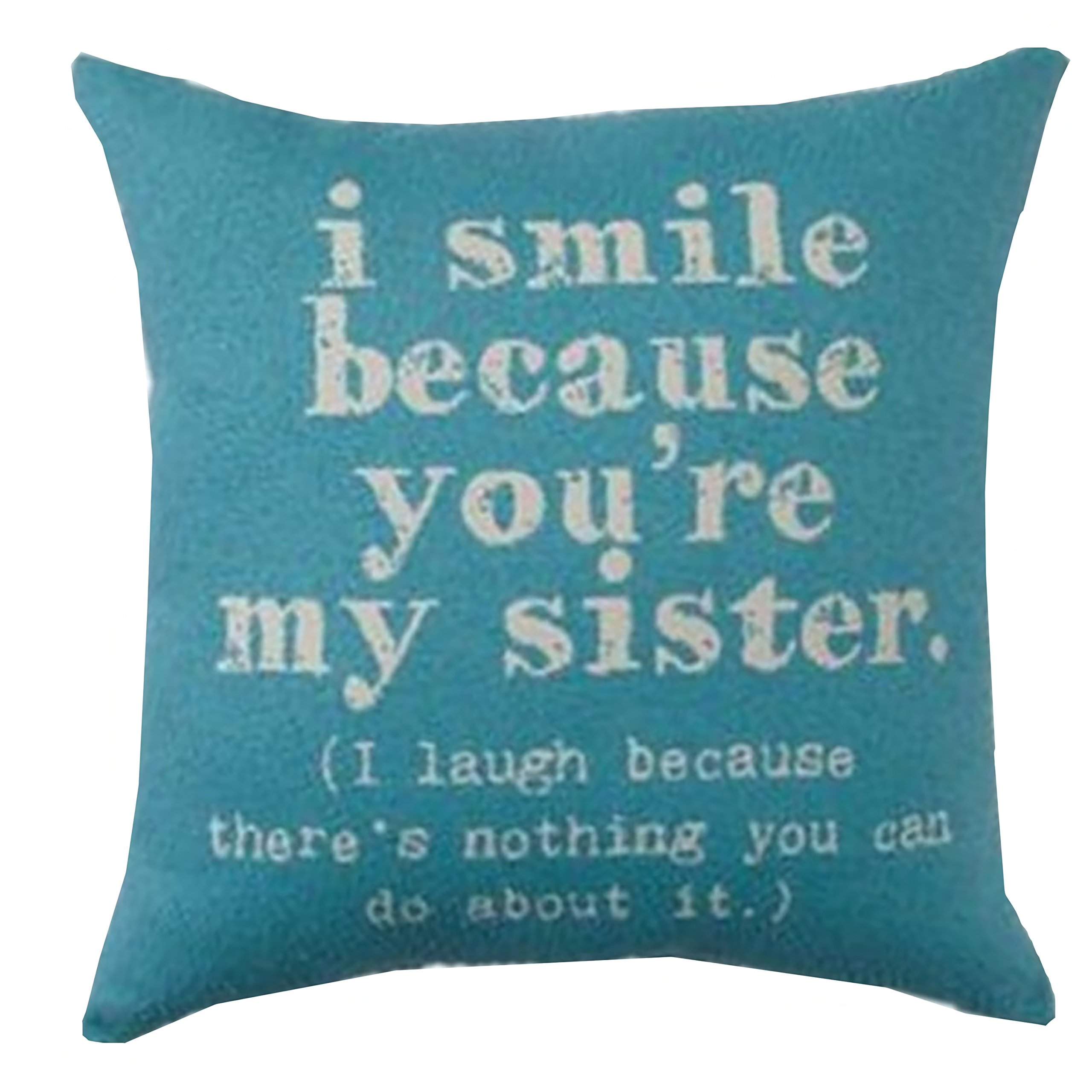 Brentwood Originals 8022 ''Sisters'' Decorative Pillow, 18''