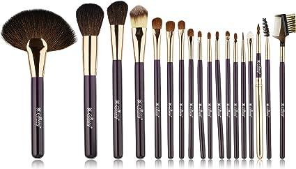 Shany Cosmetics NY Collection Pro – Kit de pinceles y brochas de maquillaje (con estuche – 13 oz: SHANY: Amazon.es: Belleza