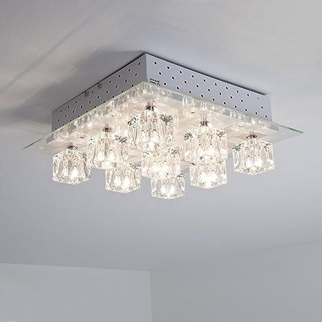 Lámpara halógena de techo con diseño de coloures de luz LED ...