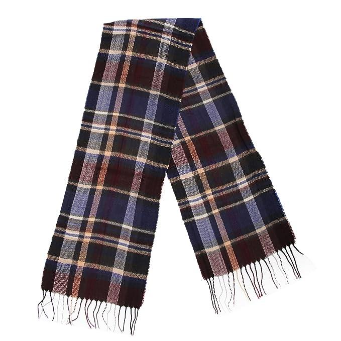 Mens Tartan Winter Scarf  Amazon.co.uk  Clothing 93df143f8b8e