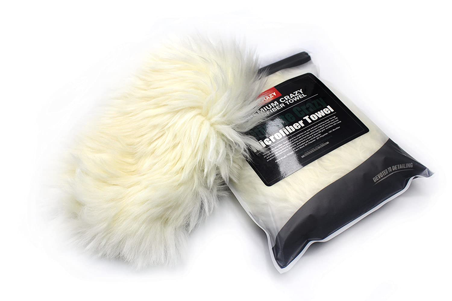 Maxshine Premium Sheepskin Wool Wash Mitt for Car