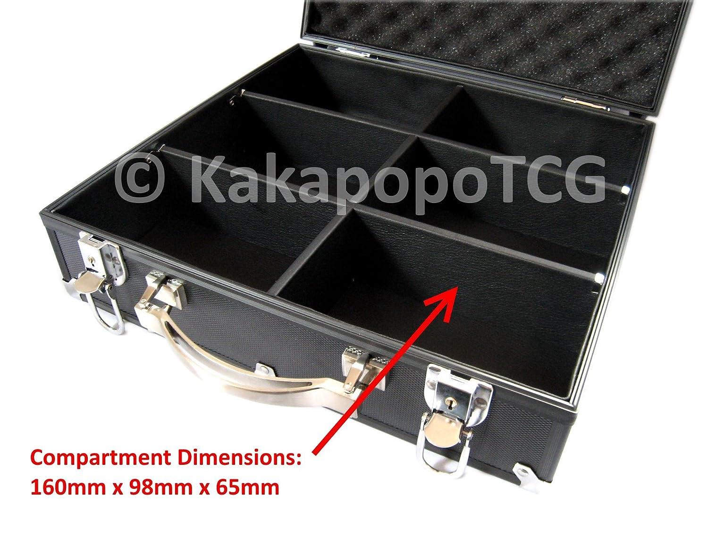 Amazon.com: KakapopoTCG Black Kaibas Briefcase Lockable ...