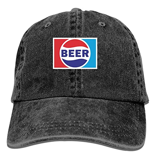 fcf21d6ac1adc Image Unavailable. Image not available for. Color  Baseball Cap-Beer Pepsi.