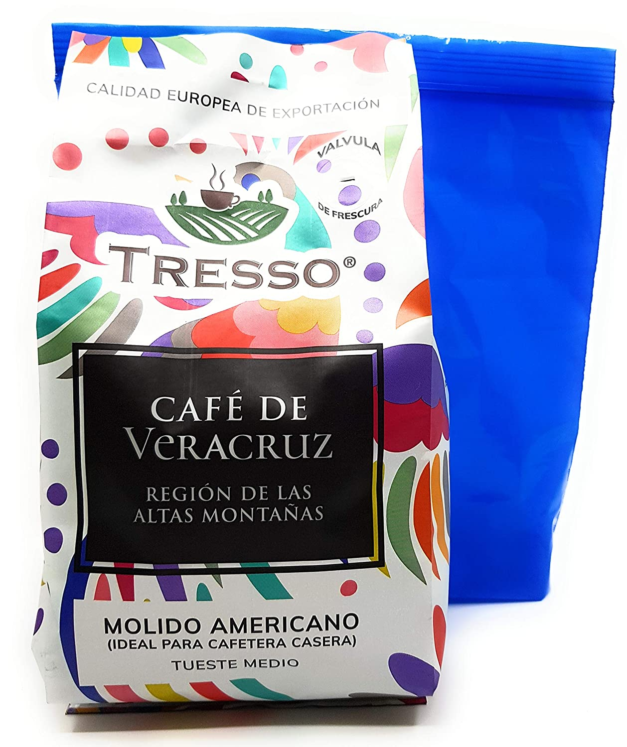 Amazon.com : Tresso Cafe de Veracruz Ground Mexican Medium ...
